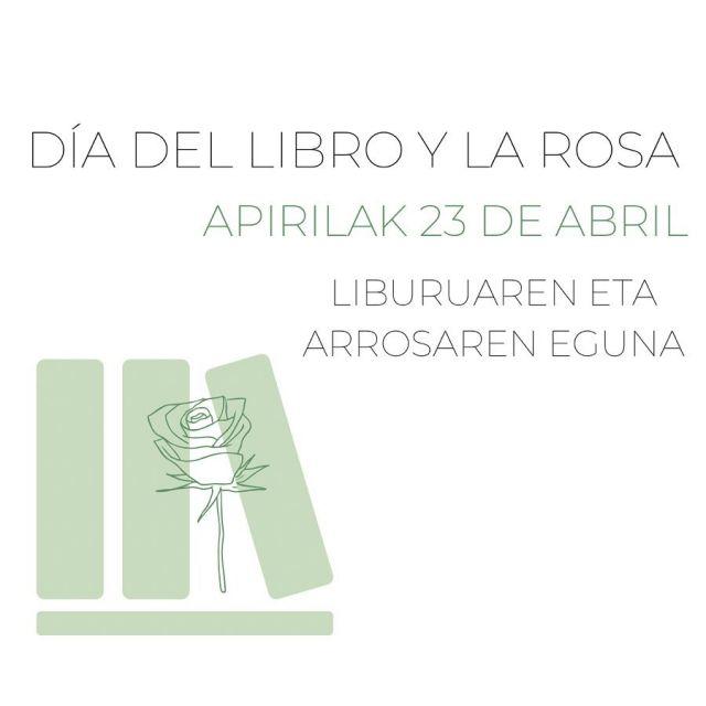 ¡FELIZ DÍA DEL LIBRO Y LA ROSA! 📖🌹  . . Disfrutad de las flores y los libros ❤️ . . #diadellibro #diadellibroylarosa #diadellibro2021 #23abril #apirilak23 #santjordi #rosas #pinocho #photocall #cuentoinfantil #floristeriaacacia #tafalla #navarra #donquijote #exposicion